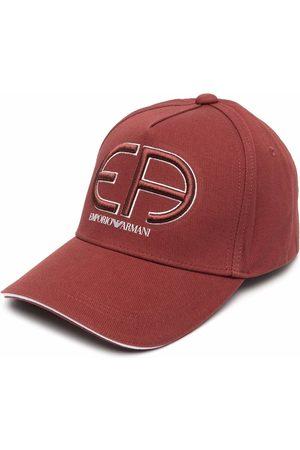 Emporio Armani Embroidered logo baseball cap