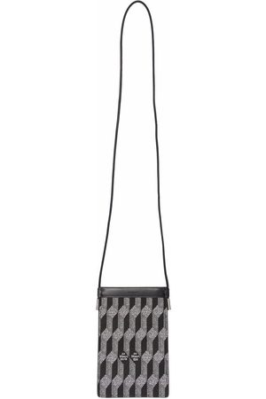 AU DEPART Woven mini shoulder bag