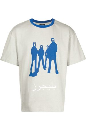 Pleasures Short Sleeve - Graphic-print short-sleeved T-shirt - Grey