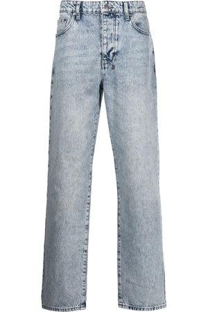 KSUBI Acid-wash denim jeans