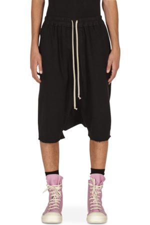 Rick Owens Men Sports Shorts - Drawstring pods shorts S