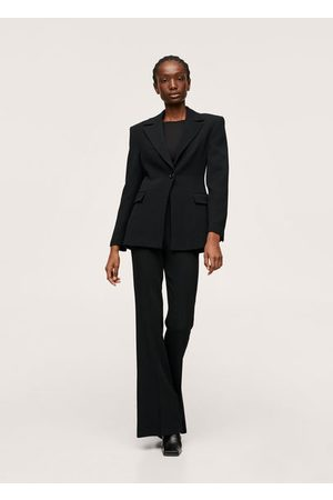 MANGO Women Blazers - Wool suit blazer