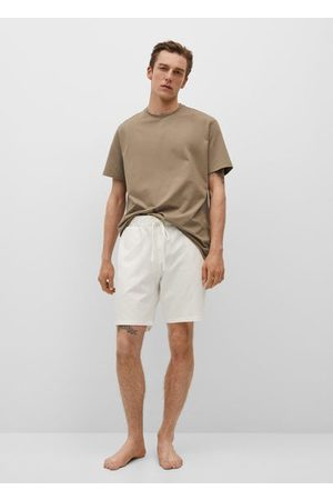 MANGO Men Pajamas - Cotton pyjama t-shirt