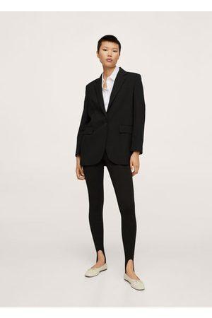MANGO Pocketed oversize blazer