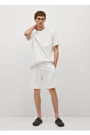 MANGO Cotton pyjama t-shirt