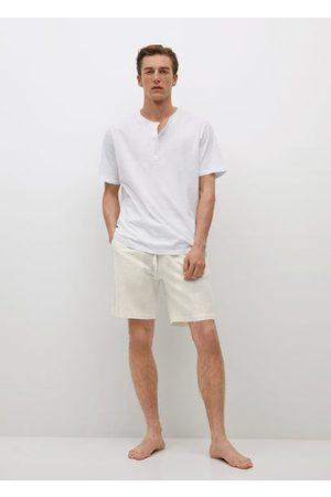 MANGO Linen cotton pajama pack