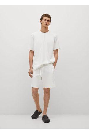 MANGO Cotton pyjama pants