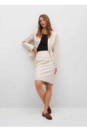 MANGO Women Blazers - Structured suit blazer