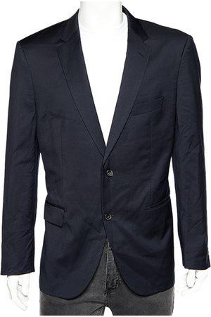 HUGO BOSS Navy Wool T-Howard4/Court5 Tailored Blazer XXL