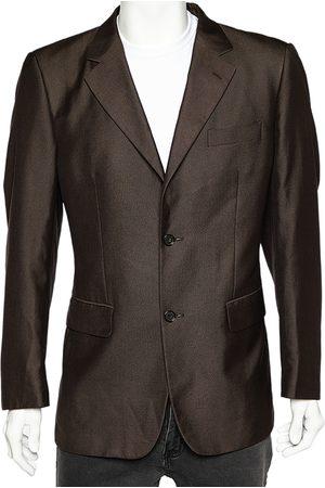 Saint Laurent Yves Saint Laurent Vintage Button Front Blazer XL