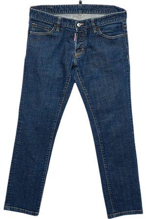 Dsquared2 Navy Denim Tapered Leg Jeans L