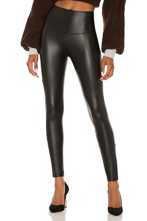 Yummie by Heather Thomson Faux Leather Legging in .