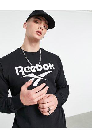 Reebok Men Hoodies - Vector crew neck sweatshirt in