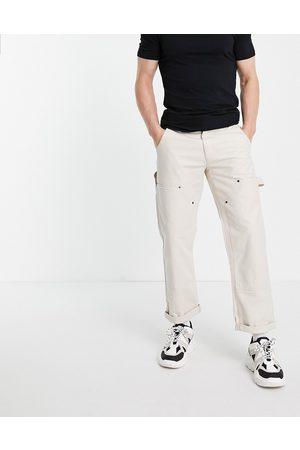 Topman Carpenter pants in ecru