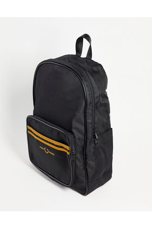 Fred Perry Twin tipped backpack in / gold
