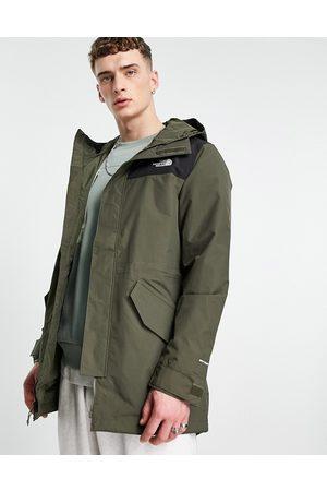 The North Face City Breeze parka jacket in khaki