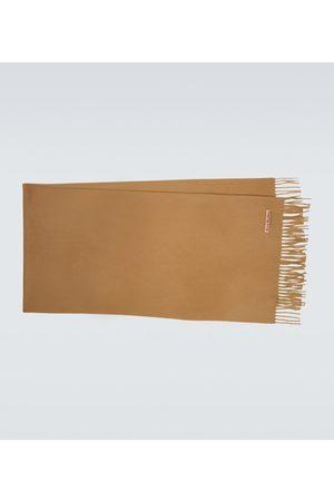 Acne Studios Men Scarves - Narrow cashmere scarf