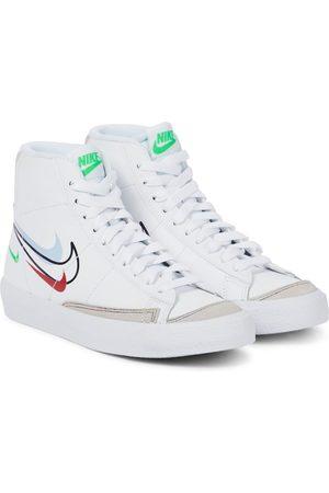 Nike Blazer Mid '77 GS leather sneaker