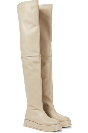 Gia Borghini Exclusive to Mytheresa – GIA/RHW Rosie 10 leather over-the-knee boots