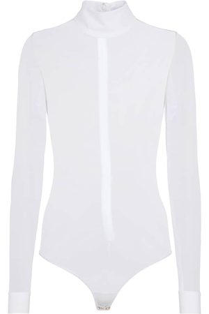 Burberry Women High Necks - Sheer turtleneck bodysuit