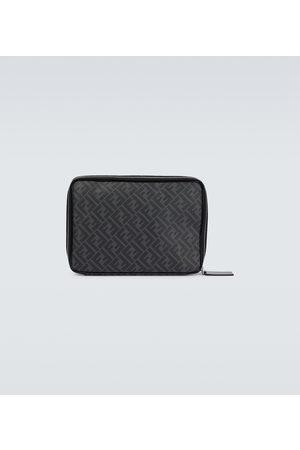 Fendi FF leather laptop case