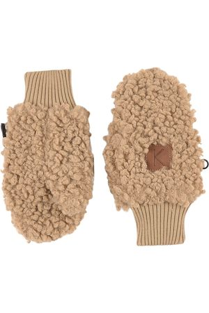 Kuling Sand Turin Teddy Mittens - 0-2 Years - - Fleece gloves and mittens