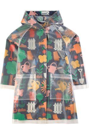 Stella McCartney Kids - Navy Gardening Rain Jacket - 2 years - Navy - Parkas