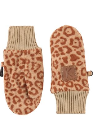 Kuling Gloves - Leopard Northpole Fleece Mittens - 2-4 Years - - Fleece gloves and mittens
