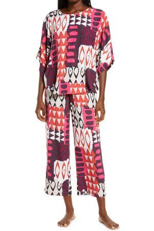 Natori Women's Bukhara Crop Pajamas