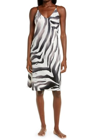 Natori Women's Tigre Stripe Satin Chemise