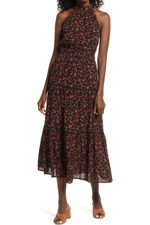 Lost + Wander Women Halterneck Dresses - Women's Fleur Halter Midi Dress
