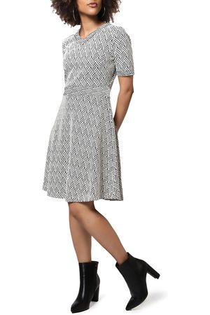 Leota Women's Lindsey A-Line Sweater Dress