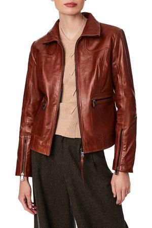 Bernardo Women's Lambskin Leather Jacket