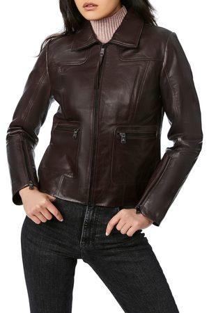 Bernardo Women Leather Jackets - Women's Lambskin Leather Jacket
