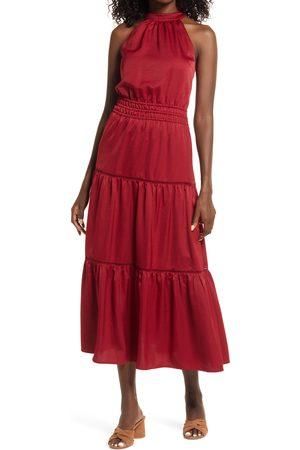 Lost + Wander Women's Fleur Halter Midi Dress