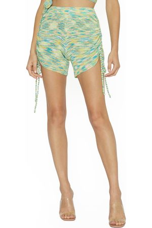 4SI3NNA Women's Delaney Side Cinched Knit Shorts