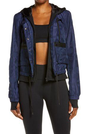 Blanc Noir Women's Skyfall Hooded Aviator Jacket