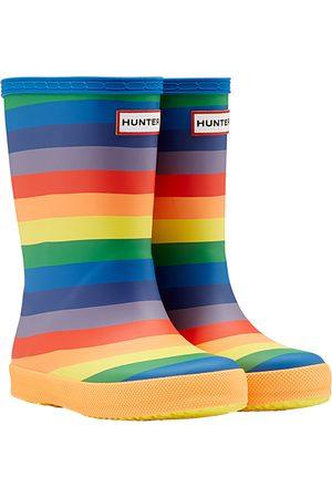Hunter Original First Classic Rainbow Kids Wellies - Multicoloured