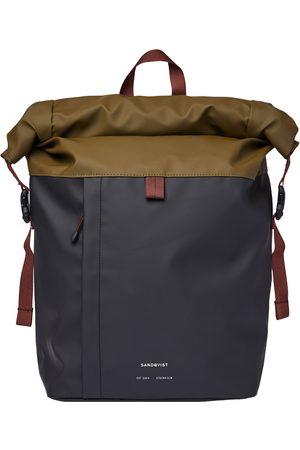 Sandqvist Konrad Backpack - Multi Olive