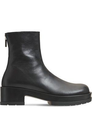 SAPIO 50mm Leather Chelsea Boots