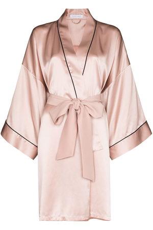 Olivia von Halle Women Bathrobes - Mimi silk robe