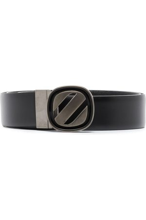Ermenegildo Zegna Men Belts - Logo-buckle reversible belt