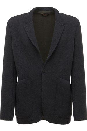 Ermenegildo Zegna Cashmere & Wool Double Blazer