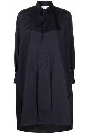 Maison Margiela Women Casual Dresses - High-low hem shirtdress