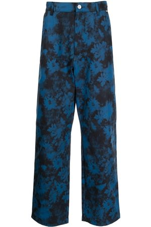 Kenzo Floral wide-leg trousers