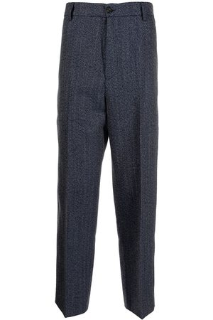 Kenzo Men Formal Pants - High-rise tailored trousers