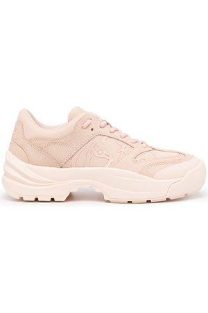 Kenzo Women Sneakers - Logo low-top sneakers