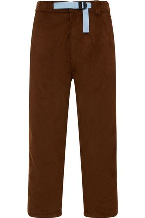 Lc23 Cotton Corduroy Belted Trousers