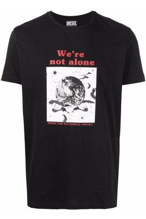 Diesel Men T-shirts - T-Diegos-B19 BCI cotton T-shirt