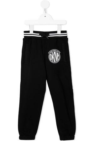 DKNY Girls Sports Pants - Logo patch trackpants
